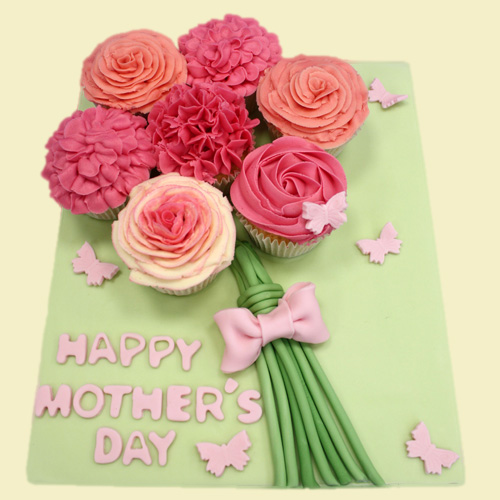 Mothers day cupcake - Cupcake bouquet for Mothers day ...