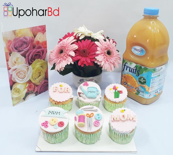 Gift package to wish loves you mom