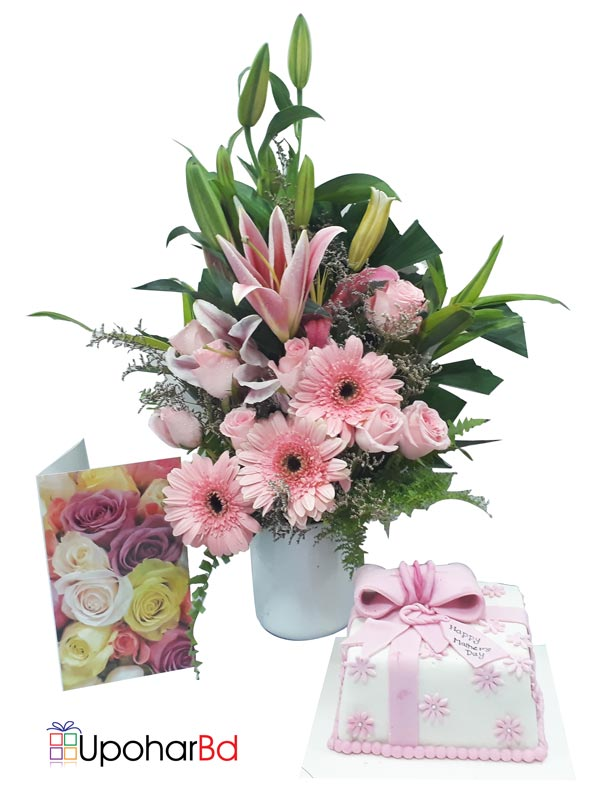 Pink surprise for your mother