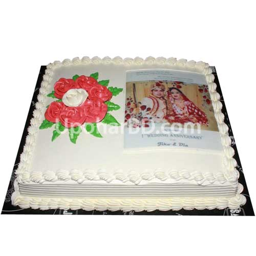 Photo cake from Coopers