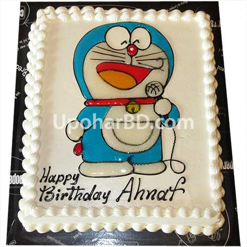 Doraemon cartoon cake