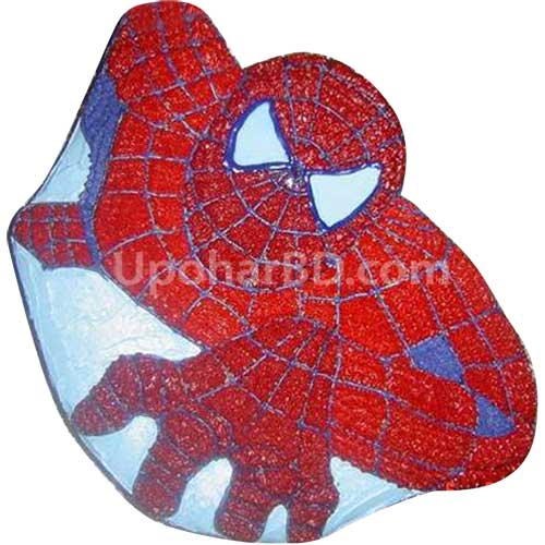 Spiderman designed cake