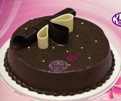 American chocolate cake from Kings Chittagong