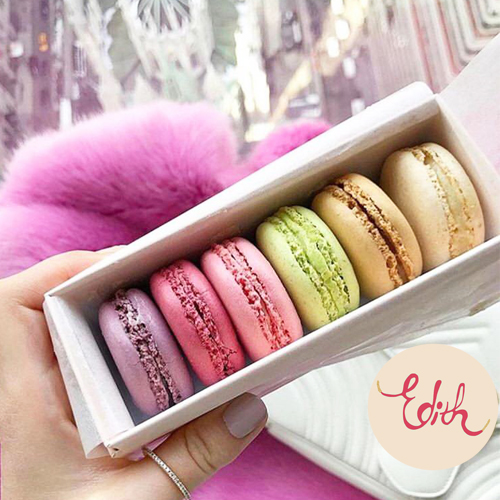 Box of Macaroons from Edith