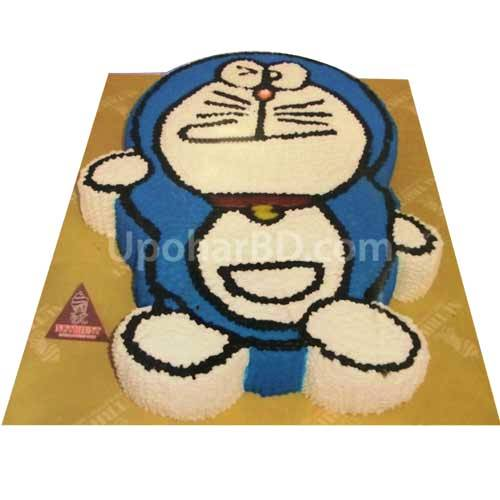 Doreamon Shape Cake