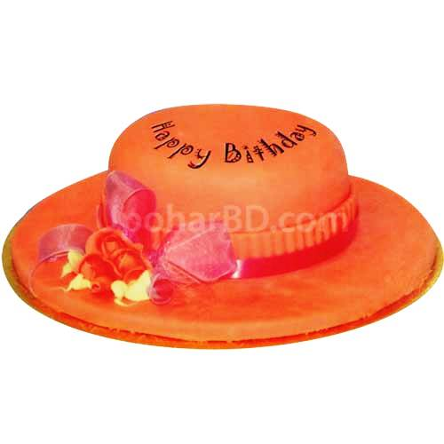 Hat Shape Cake