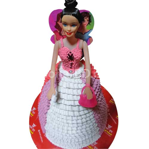 Buy And Send Birthday Cake Online In Bangladesh Barbie Doll Cake
