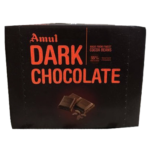 1 Packet Of Amul Dark Chocolate (800gm)