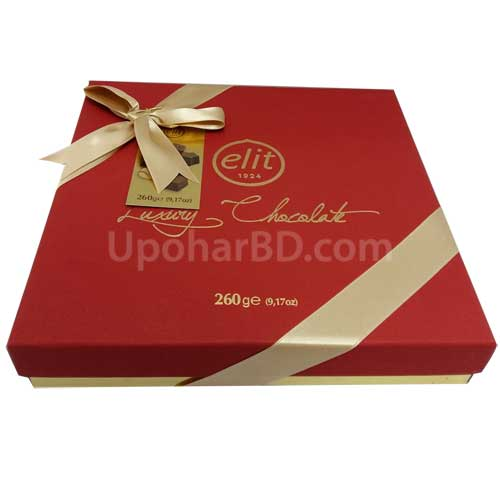 Elit Gourmet Collection Red chocolate gift box