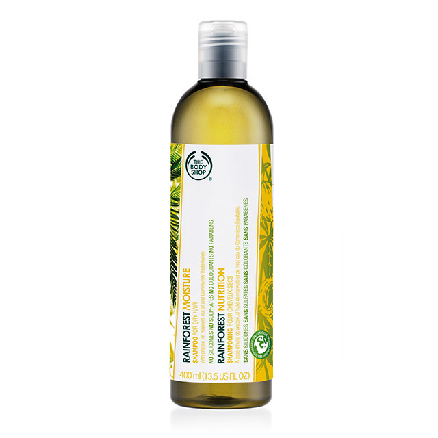 The Body Shop Rainforest Moisture Shampoo 400ml