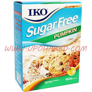 Iko Sugar Free Pumpkin Oatmeal Cracker
