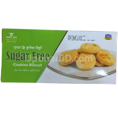 Well food Sugar free Biscuit