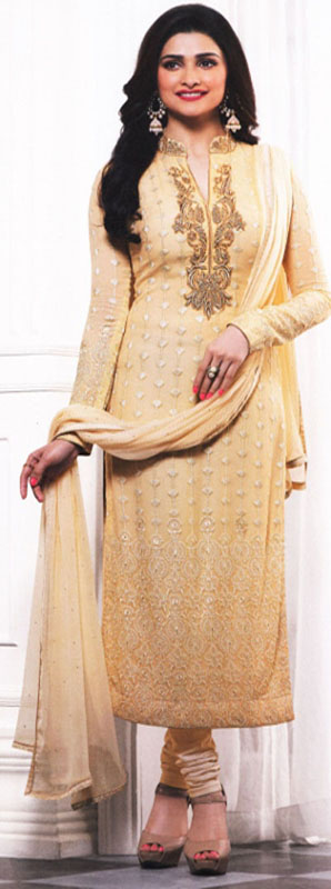 Gorgeous Cream suit from Vinay fashion