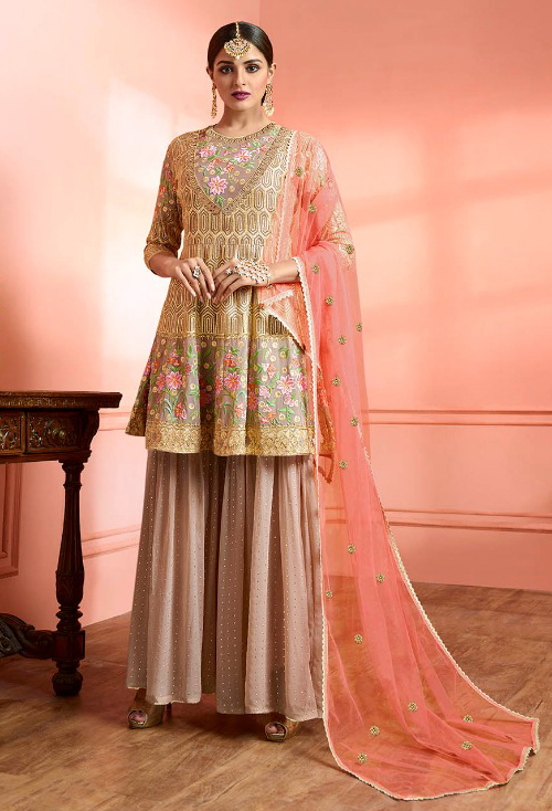Tortilla Designer Sharara Suit