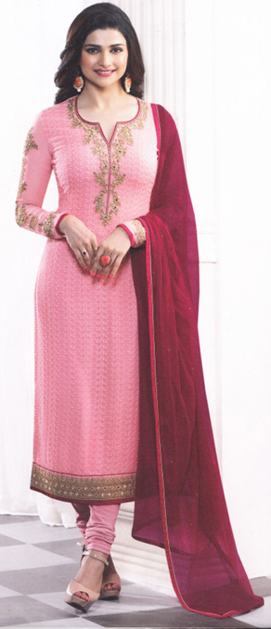 Light pink occasion dress from Vinay fashion's