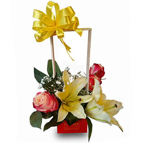 Mix Floral in a PVC Box