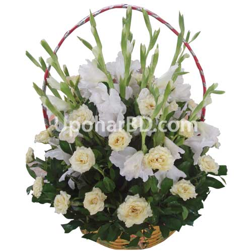 White Rose Romance Bouquet