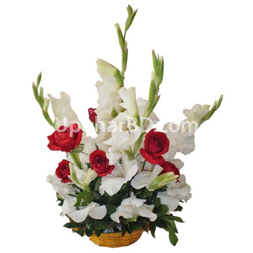 Fresh and cool Flower Basket