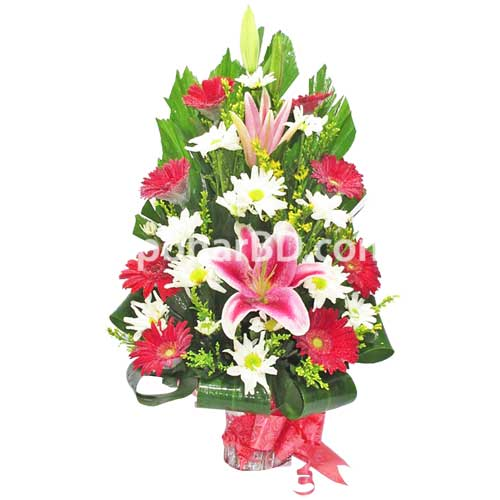 Bright and beautiful flower bouquet