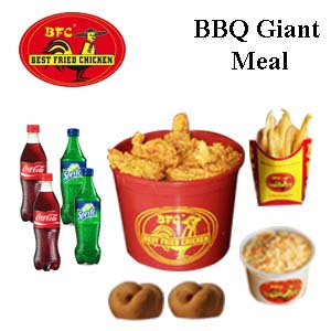 BBQ Giant Meal