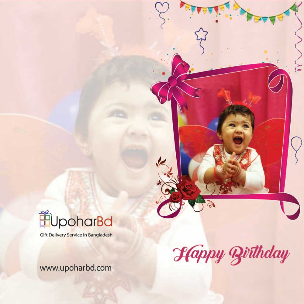 Photo greetings card for Birthday
