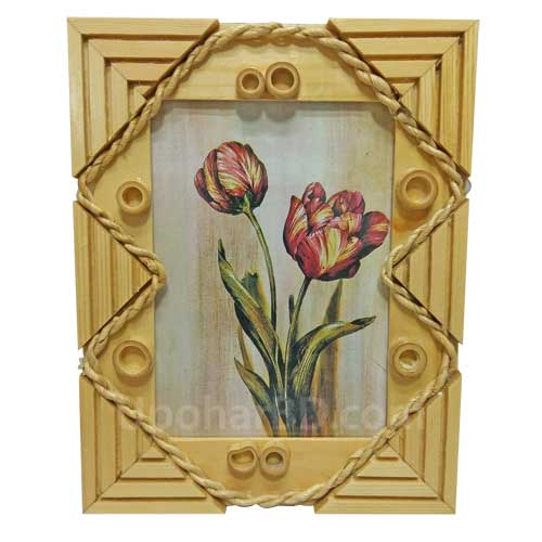 Designed wooden Photo Frame