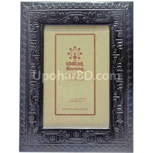 Aarong leather embossed 5R size frame with photo