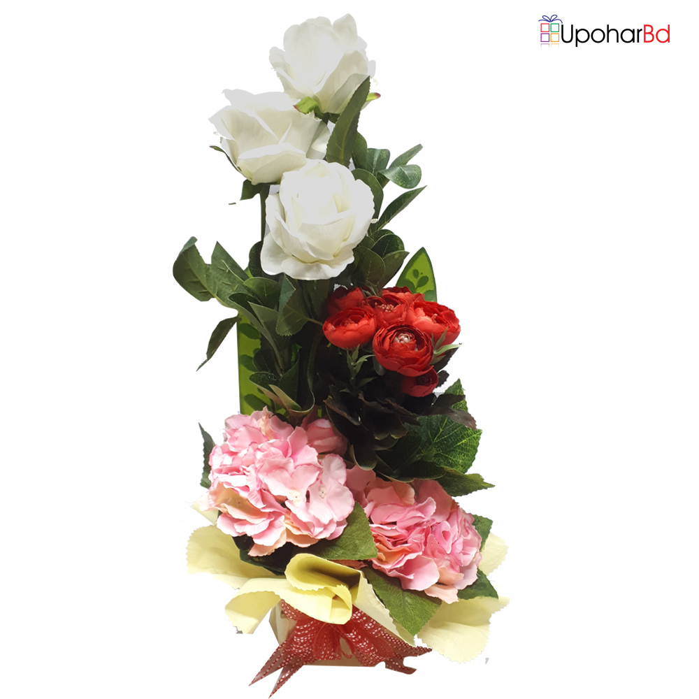 Real Touch In Artificial Flower