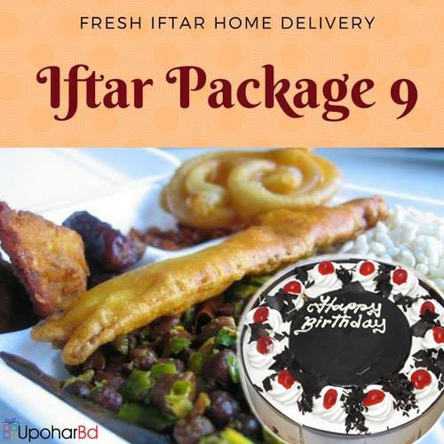 9. Star iftar with Coopers Cake