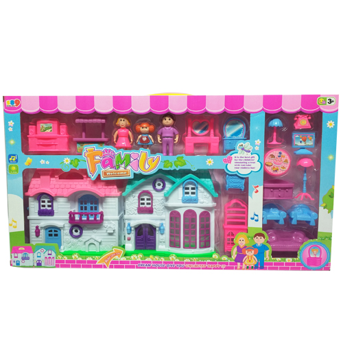 Happy Family Dream House Playset