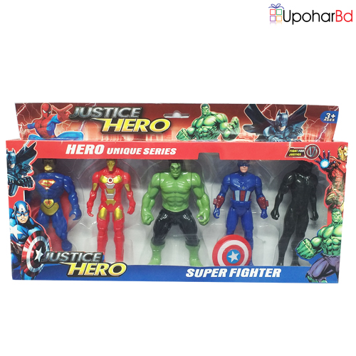 Justice Hero Super Fighter Toy