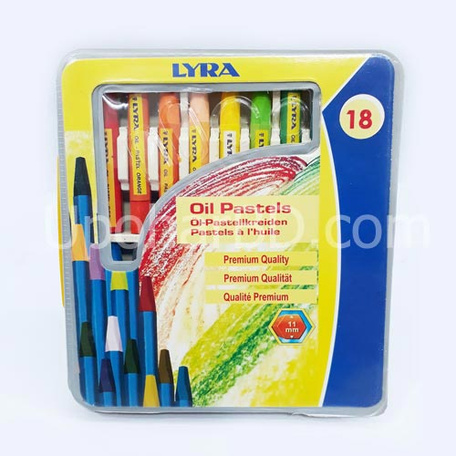 Oil pastels color set 02