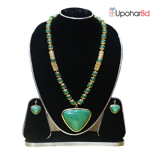 Paste color pearl necklace set