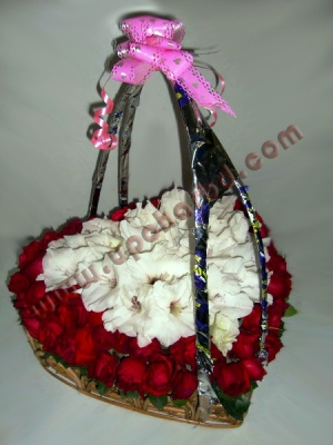 Special heart shape bouquet