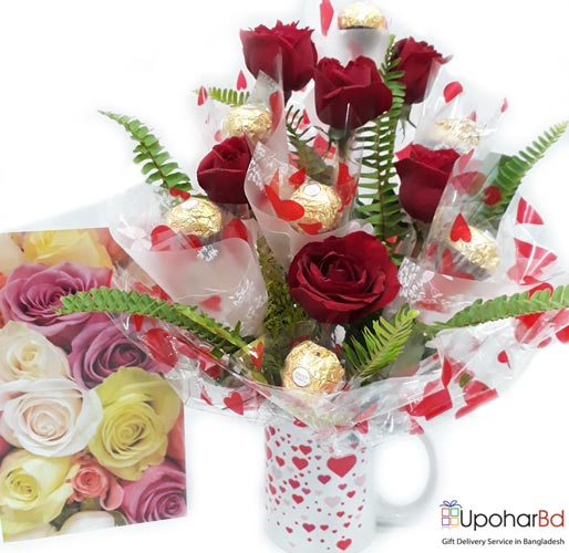 Buy And Send Cute Gift Package In Bangladesh Valentine Chocolate