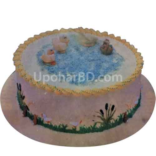 Duckling Pond Cake