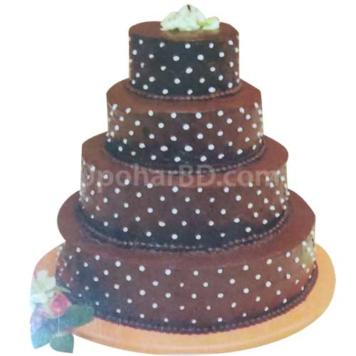 Chocolaty Dot Cake