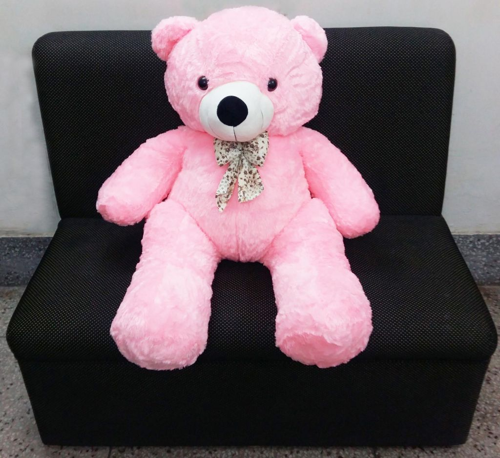 Cute teddy bear with Pink colour