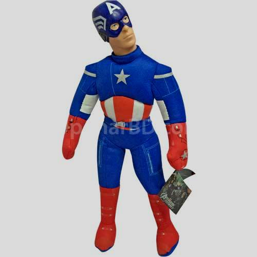 Captain America Super Hero soft toy