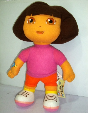 Dora soft toy for Birthday