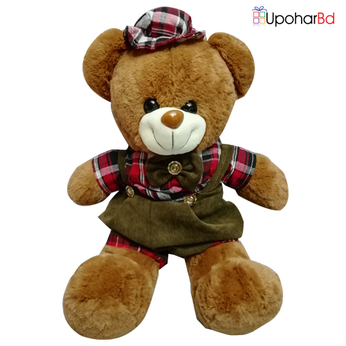 Cute brown teddy