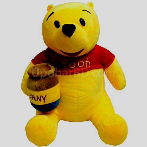 Pooh with honey pot