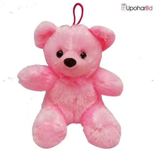 Cute mini teddy in pink