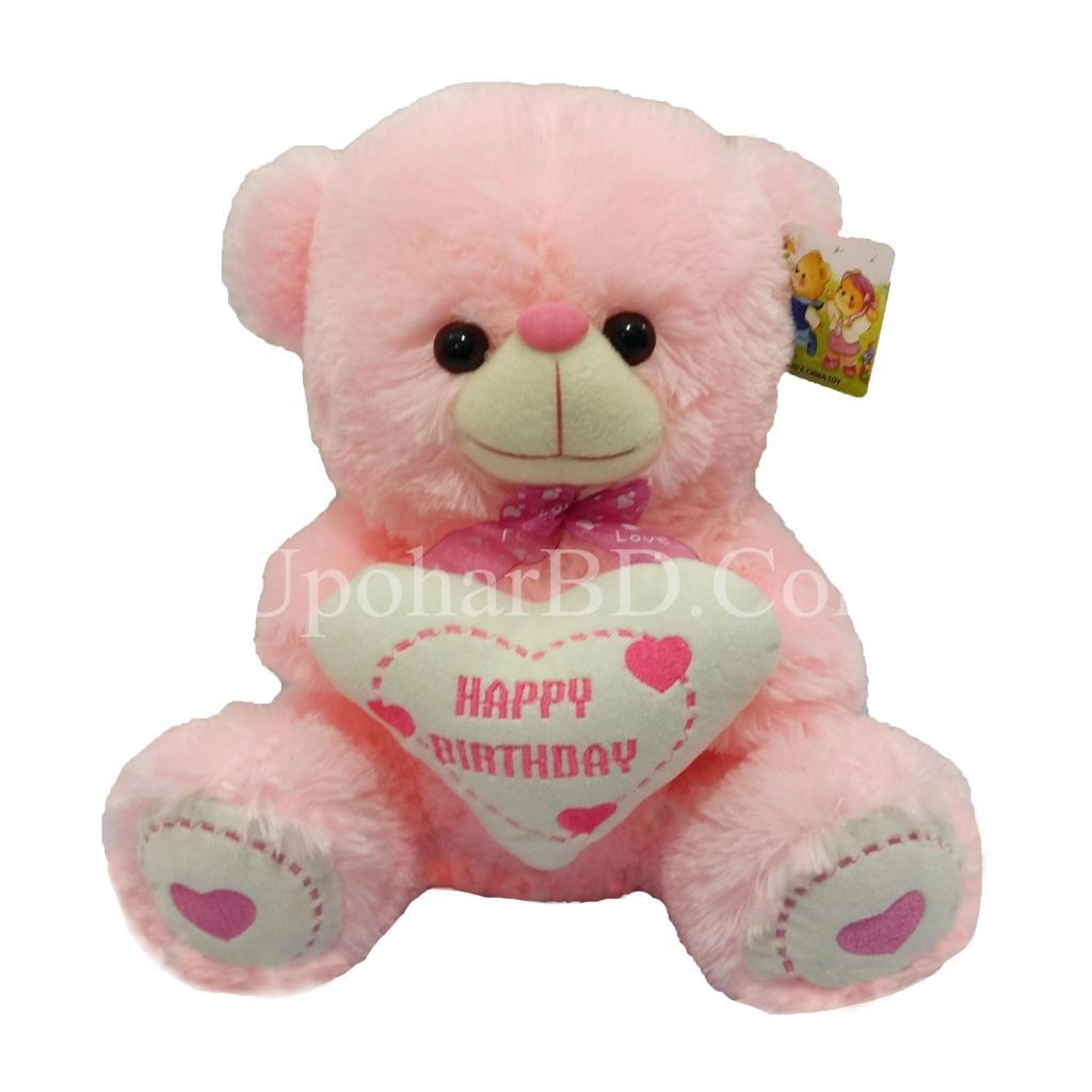 Birthday Pink Teddy