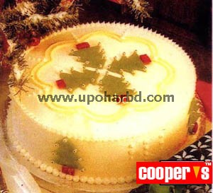 Cake with Christmas design