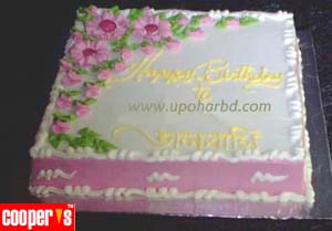Birthday gifts online coopers birthday cake Square Shape Cakes
