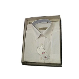 Cats eye full sleeve shirt (White)