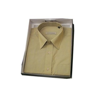 Cats eye full sleeve shirt (Light brown)