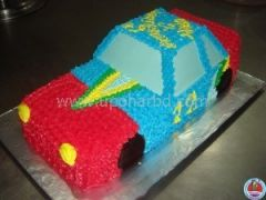Car shape cake for him