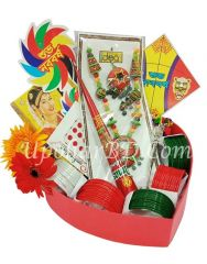 Exclusive Boisakhi Ornamental Gift Package for Young Girls